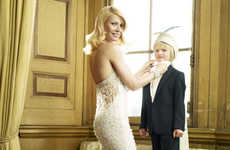 Retro Glam Celebumoms - Gwyneth Paltrow for Harper's Bazaar Makes For Some Pretty Pictures