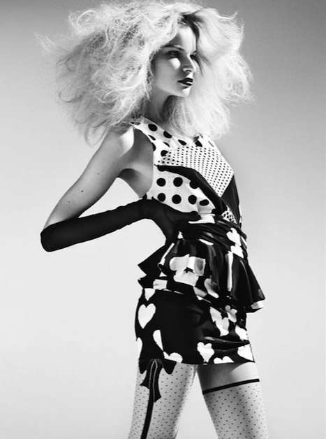 Polka Dot Couture - Melodie Dagault Rocks Dotted Frocks in Lula Spring 2010
