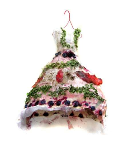 Detritus Dresses - The Beatrice Oettinger 'Wild Clothes' Collection Comes From Nature's Leftovers