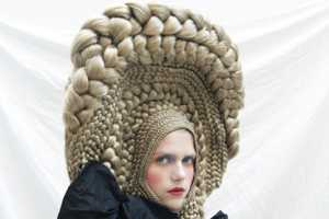 Studio Marisol's Series for CuldeSac Crazy Hair Art Workshop is Wild