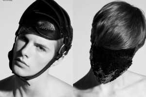 'The Evil Draw Men Together' in U+MAG Features Avant-Garde Headwear