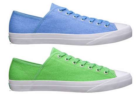 Spring-Stepped Sneakers - The Proudly Pastel PF Flyers Spring Sumfun Shoe