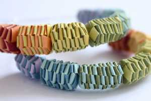 Amazing Papermode Paper Jewelry Makes a Folded Fashion Satement
