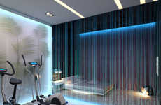 Fiber Optic Room Dividers