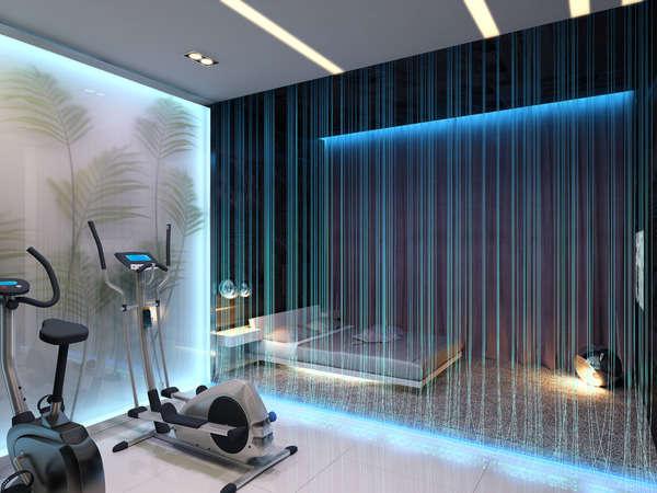 Fiber Optic Room Dividers