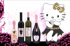Cutsey Cat Liquor - Helly Kitty Wine is Probably Not for Serious Drinkers
