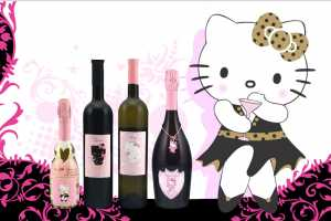 Helly Kitty Wine is Probably Not for Serious Drinkers