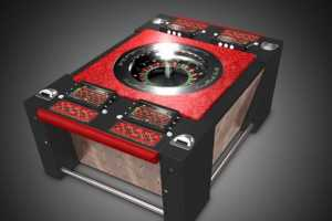 The Euroblock Star Roulette Table Brings Vegas to Your Living Room