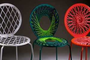 Jessica Carnevale's 'Stretch' Chairs are Tons of Fun
