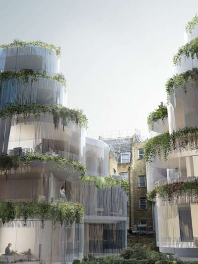 Botanical Balconies - Studio Seilern Whitehorse Development Gives New Meaning to Green House