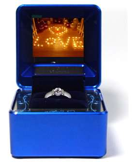 Multimedia Proposals - The Ivy Carat Jewely Case Turns a Proposal into a Performance