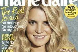The 'Marie Claire' Jessica Simpson Cover Does Away With Retouching