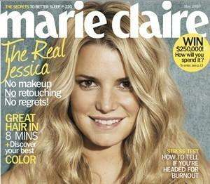 jessica simpson for marie claire