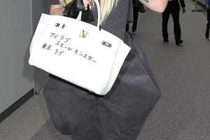 Lady Gaga's Hermes Birkin Bag is Inked Like Gaga