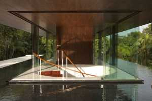 The Water Cooled House Has a Natural Flow