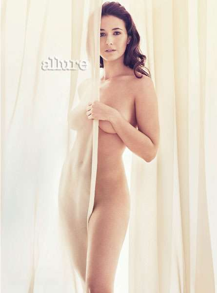 Naked Celebs for Allure