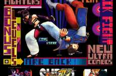 Graffitied Video Game Posters