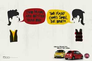 The Fiat 500 Print Campaign Will Have You Scratching Your Head