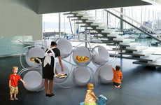 Eggshell Baby Beds - The Napping Pod Concept Will Have Your Rugrat Asleep in Seconds