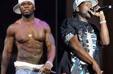 De-Gangsterfying - 50 Cent Removes Tattoos For the Movies