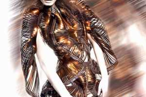 'Radiation Invasion' by Iris van Herpen is Space Age