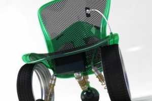 The Hubless Wheelchair Concept Offers Ultimate Luxury for the Disabled