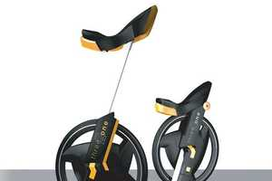 The Three 2 One Unicycle Promotes a Balanced Workout