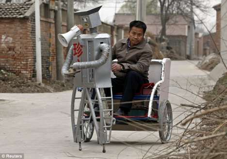 Hi-Tech Rickshaws
