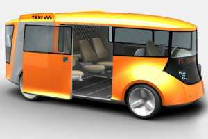The Eco Taxi Concept Helps to Lower Emissions and Fares