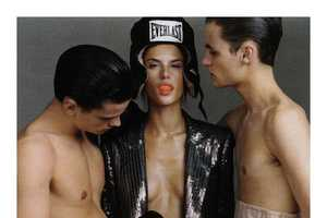 Alessandra Ambrosio Takes on Boxer Style in Vogue Russia May 2010