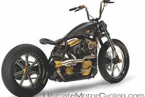 The Black Beauty Custom Cycle Will Make You Crave the Open Road