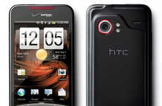 Edgy Touchscreen Phones - The HTC Droid Incredible Wants to Take a Bite Out of Apple
