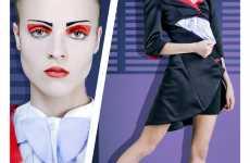 Geometric Eye Makeup