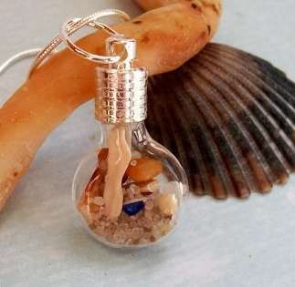jersey shore bottle pendant