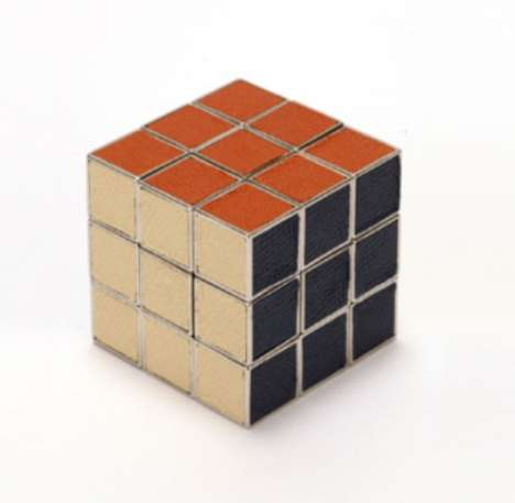 Leather Rubik s Cube
