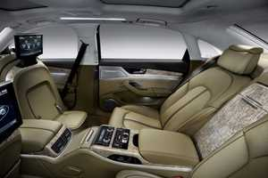 2011 Audi A8 L W12 Quattro Has Power-Adjustable Rear Seats