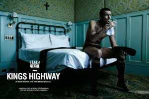 'Kings Highway' in BlackBook April 2010 Shows the Life of a Go-Getter