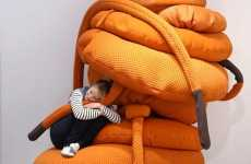 Supersized Seating - The Pieke Bergman Monsters are More Stylish Than Scary