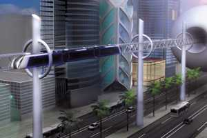 The Suspended Public Transit Concept Will Have You Flying to Work