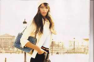 Model Daria Werbowy Personifies 'Americans in Paris' for