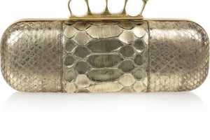 Alexander McQueen Knuckle Duster Clutches