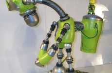 Steampunk Simpson Robots