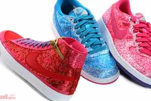Nike Women's Qi Pao Pack Channels Cheongsams