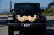 Carstache Gives Your Car Facial Hair