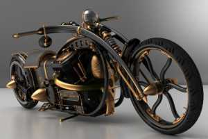 The Solifague Black Widow Chopper is Born to be Wild