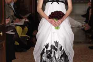 The Carolina Herrera Bridal Spring 2011 Line is Edgy