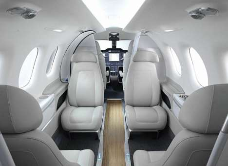 Pimpin' Plane Makeovers - The BMW Aircraft Interior Reaches a New Altitude of Decadence