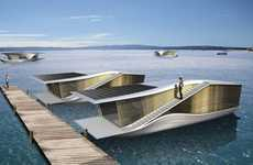 Solarized Floating Homes - 'The Last Resort' from RAFAA Architecture and Design