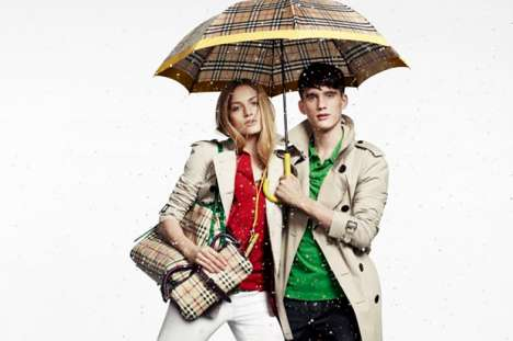 Burberry 2010 April Showers Collection