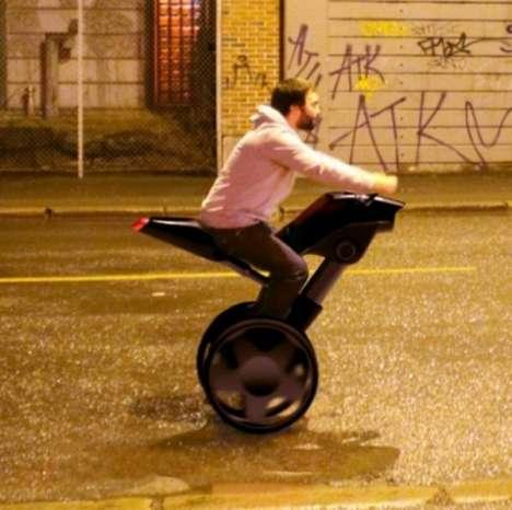 New Age Eco Segways - Erik Lunuza's Taurus Bike Offers an Earth-Friendly Ride